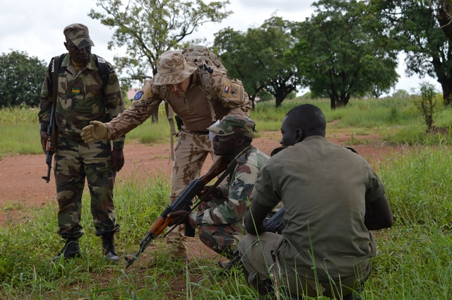 Training of Malian personnel in Sikasso