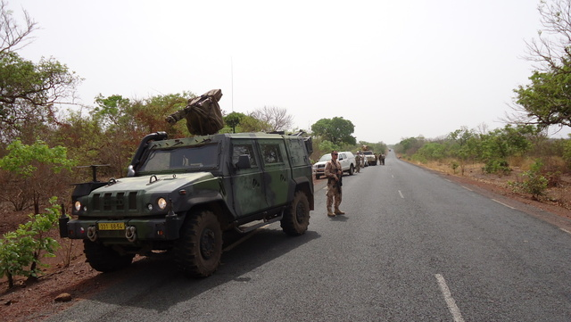Reconnaissance mission in the north of Mali