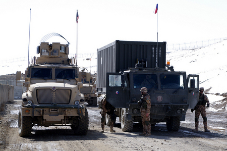 MRAP and armoured Tatra vehicles