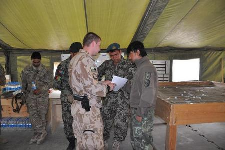 Czech soldiers participate in China Jaruk operation in Afghan district Sayed Abad