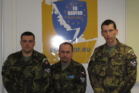 Warrant Officer Volny, Lt Col Peter, Lt Col Podoba