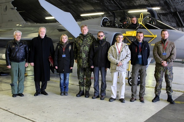 The delegation included members of the Czech Parliament, Air Force Commander BG Jaromir Sebesta, and Deputy Chief of General Staff Colonel Radek Siba