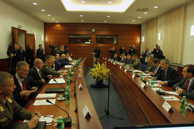 Extraordinary session at the Czech Ministry of Defence
