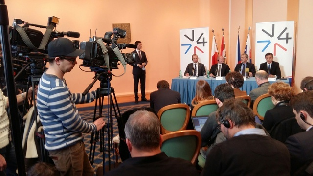 Czech, Polish and Slovak journalists were extremely interested in the results of the session