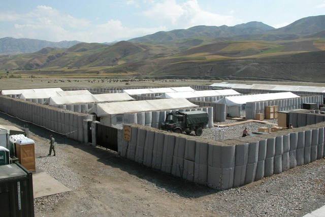 Allied base in Afghanistan