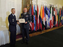 Czech Generals were introduced in the International Officer School Honor Roll at the U.S. Air University