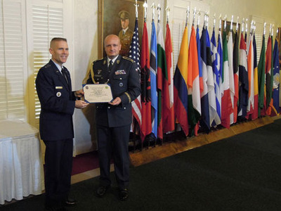 Czech Generals inducted into the International Honor Roll at the U.S. Air University
