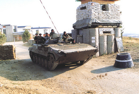 A Czech BMP in KFOR, 2000