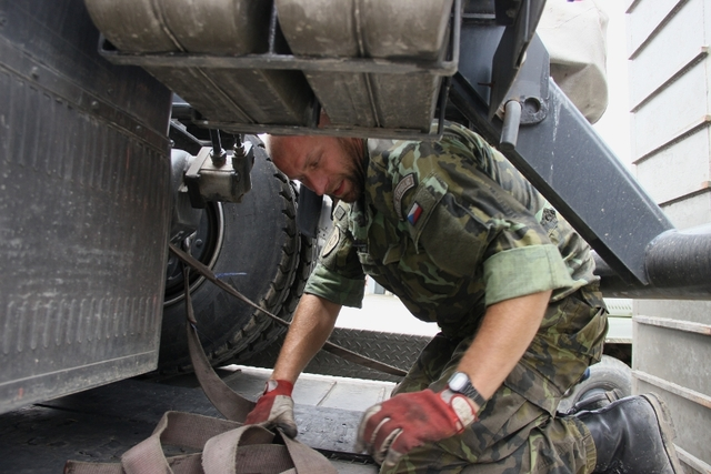 Logisticians in the exercise Tobruq Legacy (2)