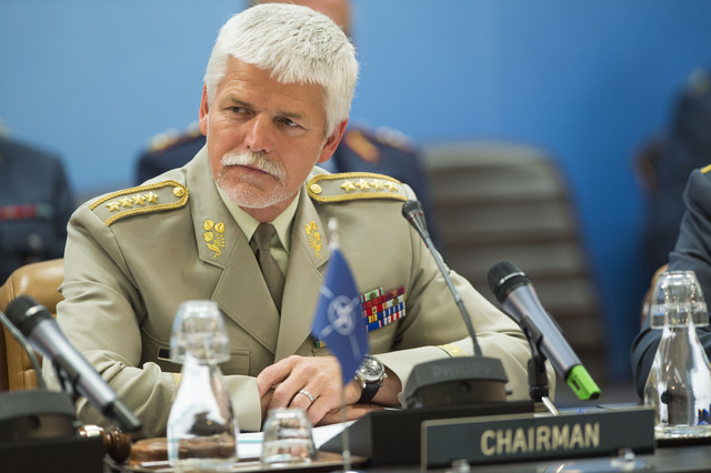 General Petr Pavel, Chairman of the NATO Military Committee