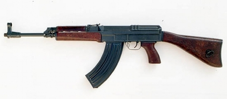 Old assault rifle Sa vz. 58