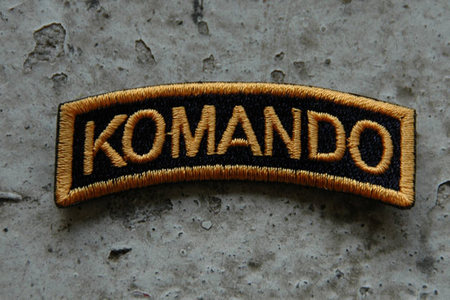 Komando badge