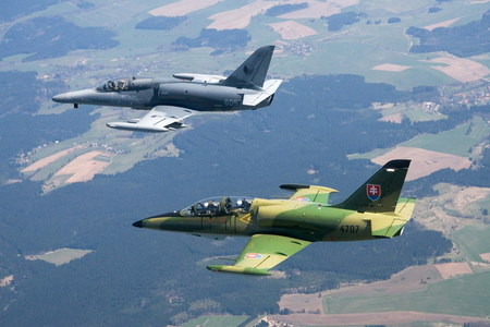 L-159 ALCA and L-39 Albatros