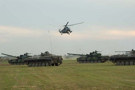 NATO DAY 2006: Land Forces display