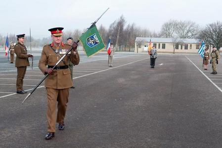 Ceremony at the Imjin Barracks near Innsworth in Gloucestershire, the U.K. (2)