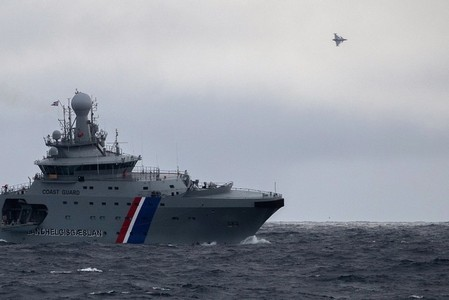 Iceland ship THOR in contact with a Czech fighter