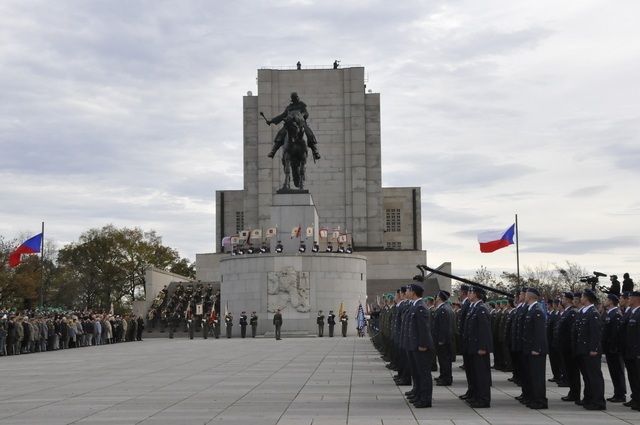 The National Memorial in Prague – Vitkov, the traditional venue for state and military ceremonies