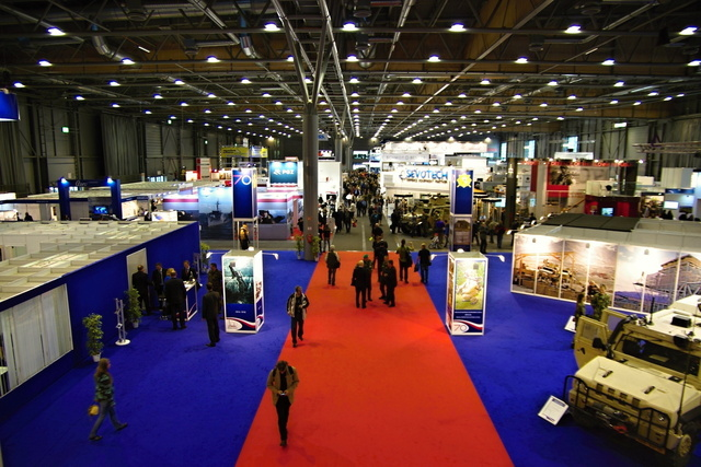Exhibitors' stands