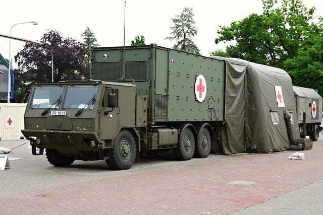 A Czech mobile medical facility as an open exhibit