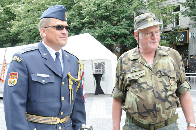 The DRILLFEST.ARMY.CZ 2014 was co-organised by the Garrison Command, Prague, commanded by Colonel Milan Virt, and CI5 Agency, led by its Director, Captain Jiri Kunc (Ret.)