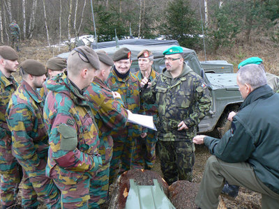 Czechs make Belgian officers familiar with the training area