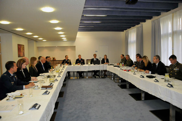 Meeting of U.S. and Czech delegations