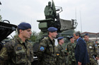 Minister Stropnicky visits air defence unit