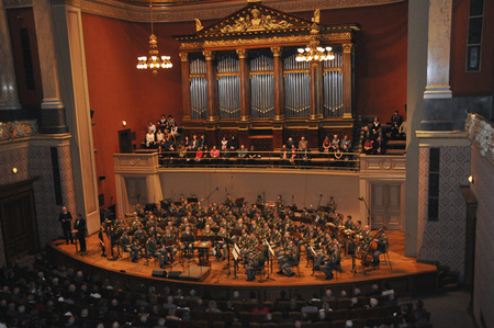 Concert at the Dvorak Hall at the Prague´s Rudolphinum for war veterans