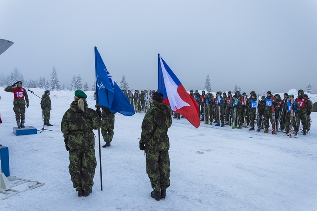 Opening ceremony of Winter Survival 2015