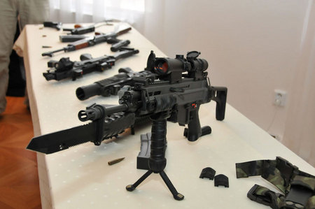 Weapons´ system for Czech soldier of the 21st century