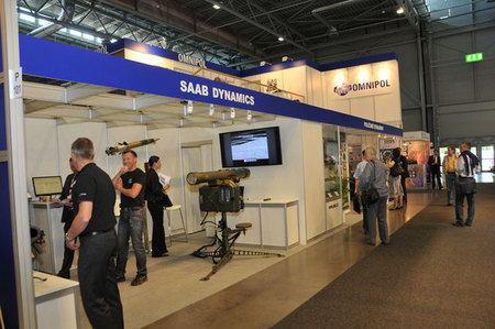 Swedish SAAB exhibition stand