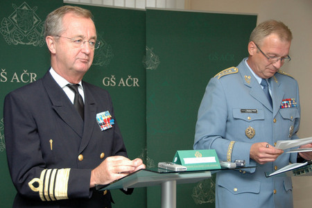 Press conference at the General Staff of ACR