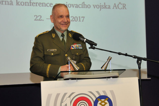 Lieutenant General Jiri Baloun, First Deputy Chief of the General Staff at the Conference