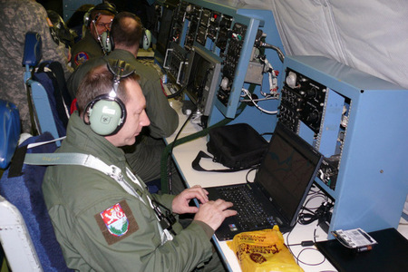 Czech military observation flight representative