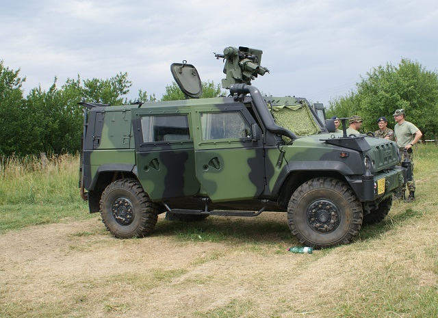 IVECO with reconnaissance and observation system