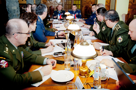 From talks of high military representatives of the Czech Republic and the Slovak Republic at Cadca
