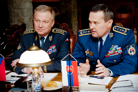 Chiefs of General Staffs of both Czech and Slovak military