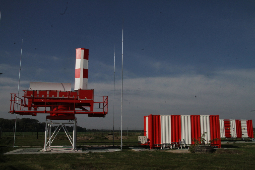 Precision Approach Radar at Pardubice Airport