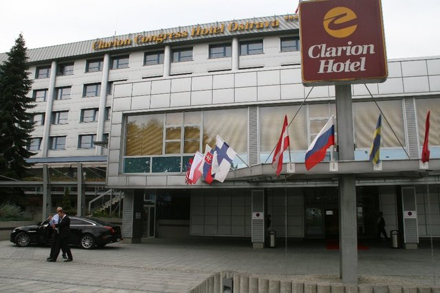 The meeting was held in the Clarion Congress Hotel Ostrava