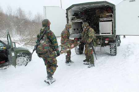 From training of Belgian soldiers at Boletice (2)