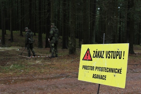 Former Brdy Military Training Area cleared of unexploded ammunition