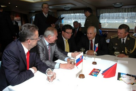Major General Milan Maxim, Defence Attaché of the Slovak Republic to the Czech Republic attended the meeting as well