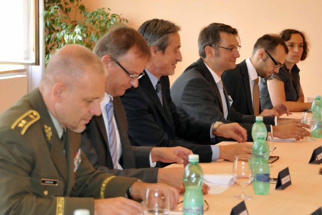 The Czech delegation at the meeting