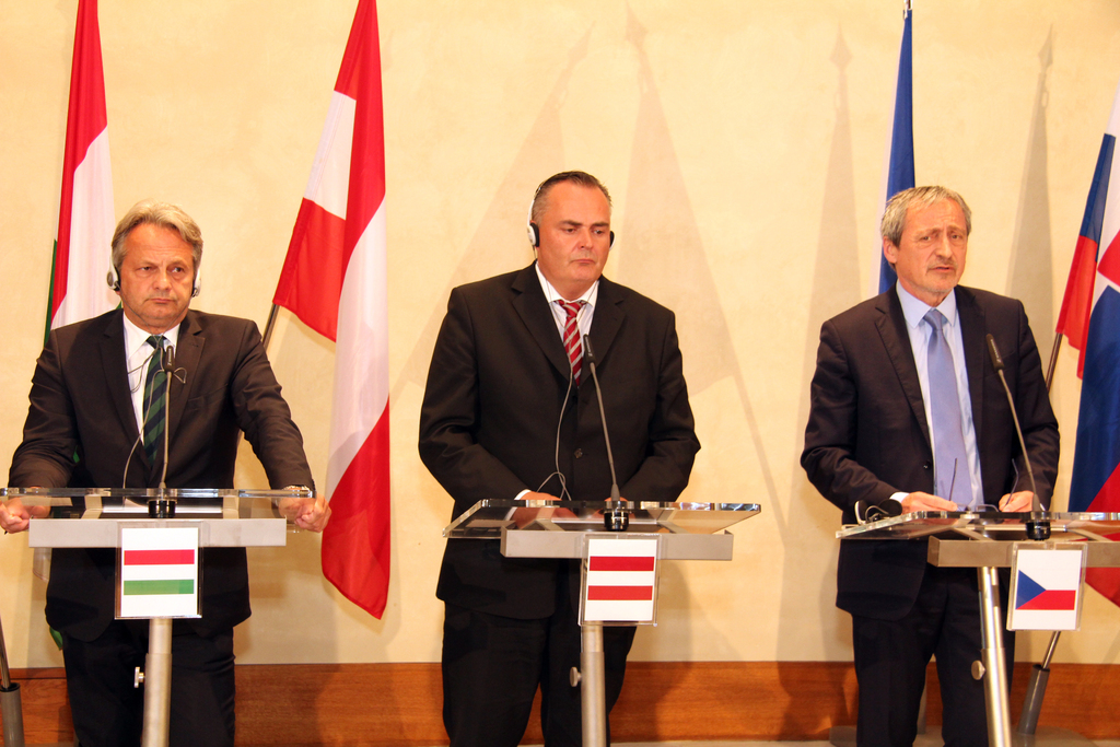 Hungarian Deputy, and Austrian and Czech Ministers of Defence
