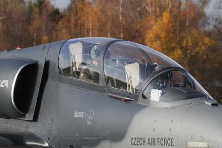 L-159 ALCA of the Czech Air Force at the Baltic Eye 2013 exercise