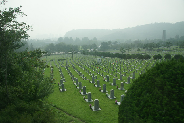 National Cemetery in Soul, the last rest for Korean War victims