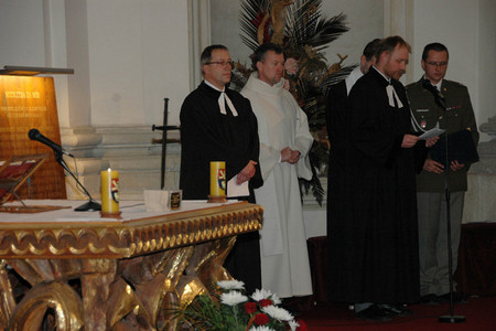 Ecumenical Service at the Military Church of St. Jan Nepomucky