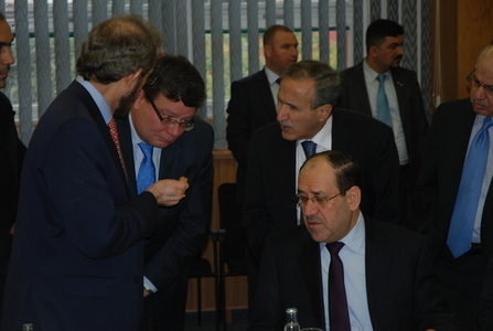 Ministers of defence and Iraqi Prime Minister discuss issues of aircraft during their visit to the Aero Vodochody