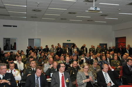 Attendance at the opening meeting with First Deputy Minister of Defence and Chief of the General Staff of ACR