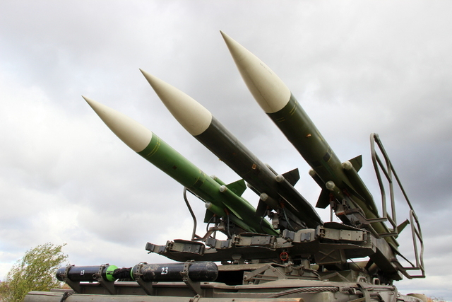 Missiles of 2K12 KUB air defence system